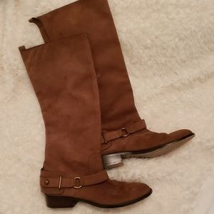 Coach : Natalie Harness Riding Boots